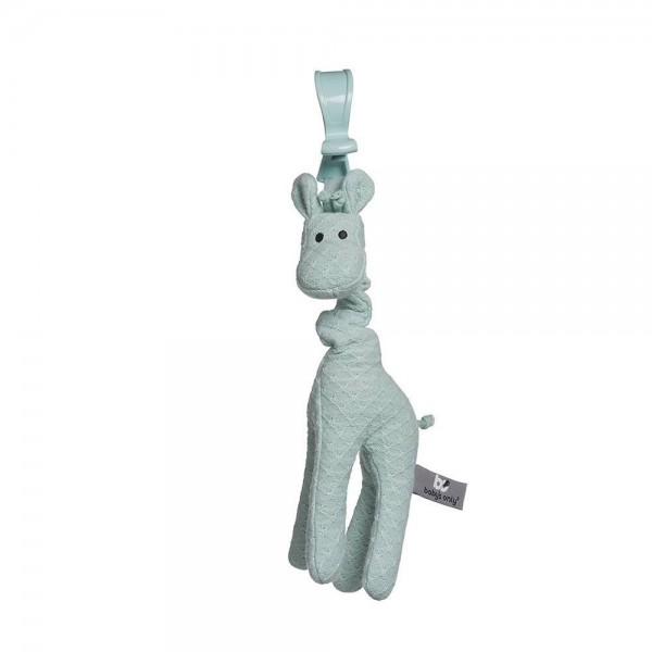 Giraffe mint vibrierend
