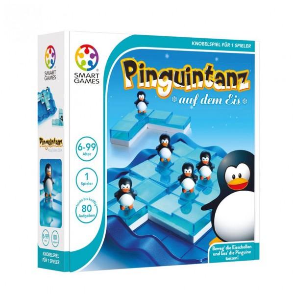 Pinguintanz auf dem Eis