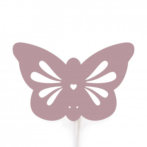 Schmetterlings Lampe rosa