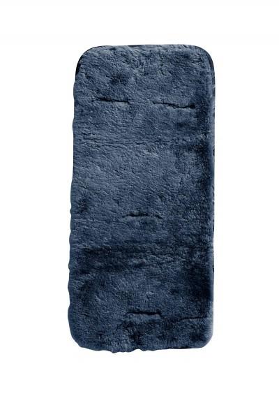 Lammfell-Auflage rauchblau