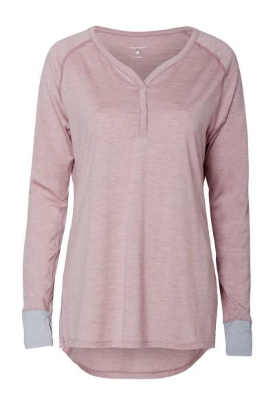 Women L Tunica dusty pink stay warm