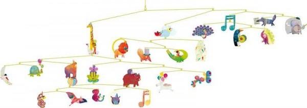 Mobiles Karneval der Tiere