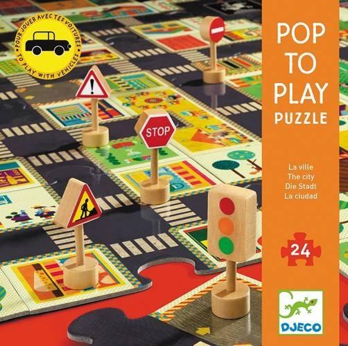 Riesenpuzzle Die Stadt 24 Teile