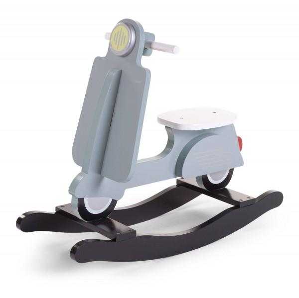 Schaukel-Scooter blau-mint