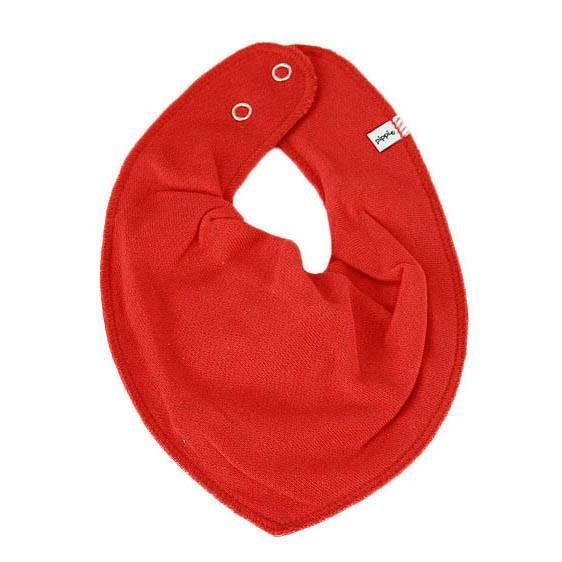 Halstuch mit Druckknopf Red