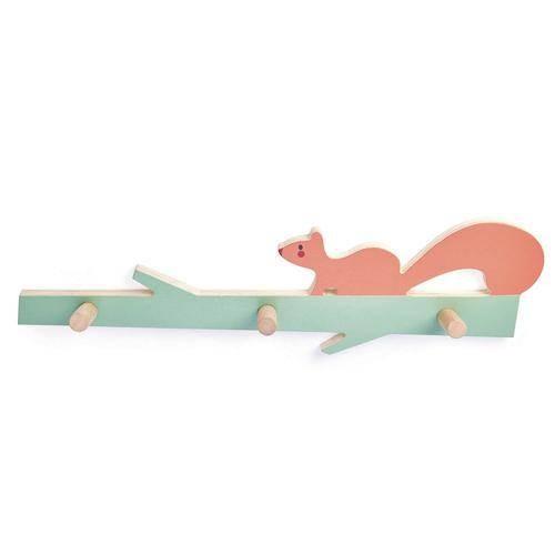 Garderobenleiste Eichhörnchen