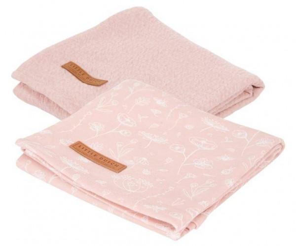 2erPack Nuscheli 70x70 Pink-Wildflowers