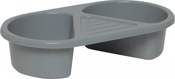 Waschbecken 2-teilig griffin grey