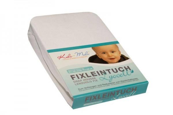 Lyocell Fixleintuch 90/45 weiss