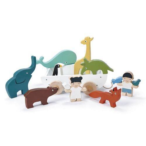 Boot mit Tieren