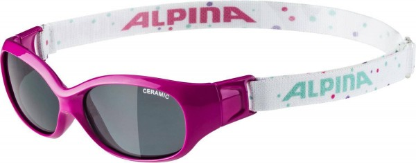 Sports Flexxy Kids 0-6 J pink-dots Sonnenbrille