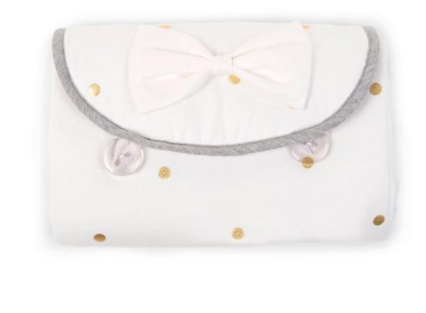 Wickelmatte Engel Jersey Golden Dots