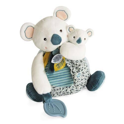 Koala mit Baby und Beissring 25cm
