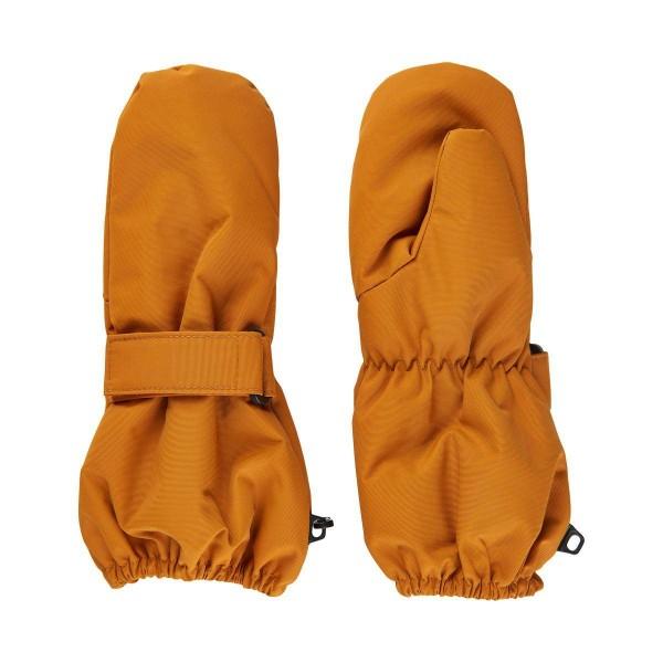 1/2 J Handschuhe uni Senf