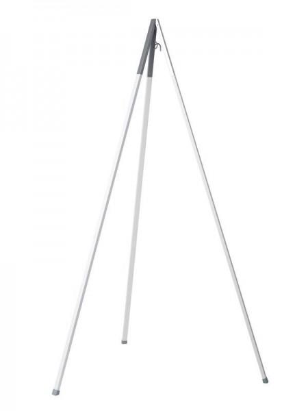 Stativ zu Hängewiege 242-275 cm Alu weiss