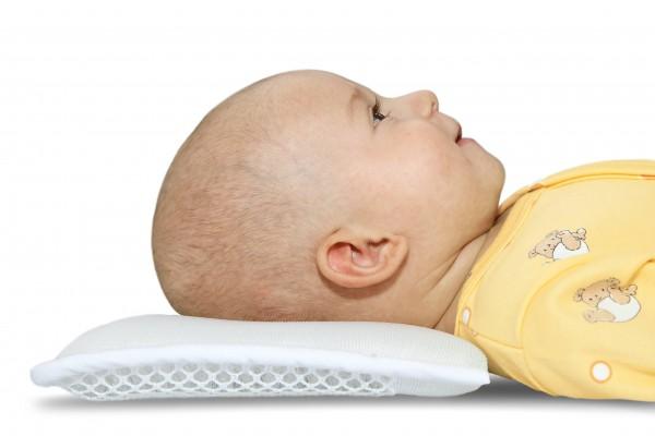 Baby-Kopfkissen weiss