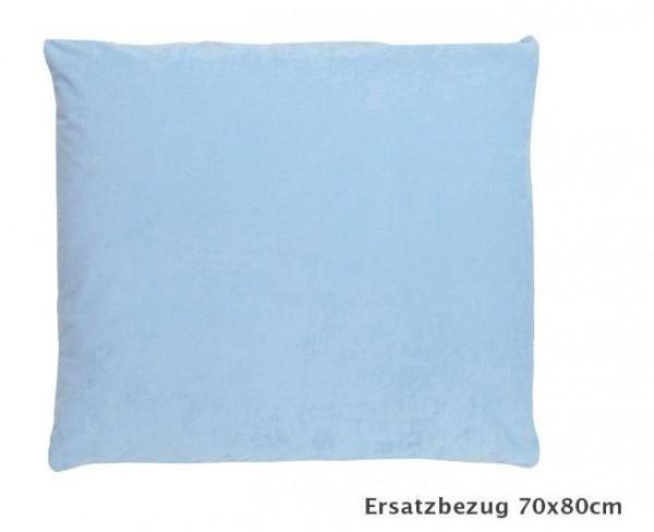 Wickelkissenbezug 77x84 SECURE hellblau