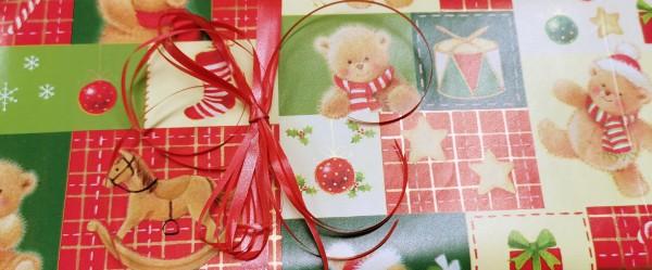 Geschenkverpackung Weihnachten