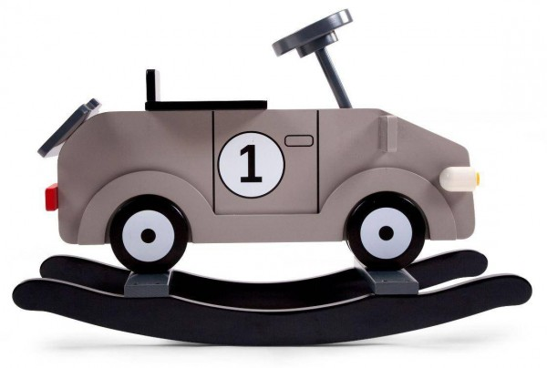 Schaukel-Auto Grau