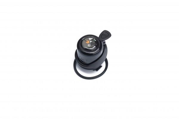 Laufrad-Glocke schwarz