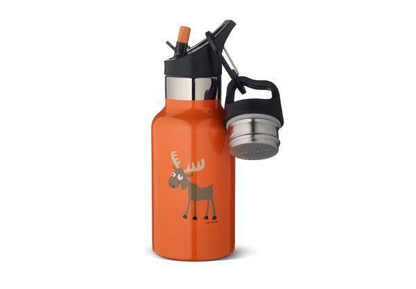 TEMPflask 350ml 2 Verschlüsse orange