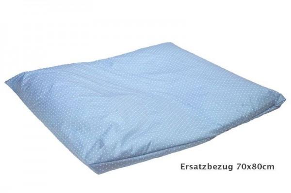 Wickelkissenbezug 70x80 Secure blau Lyocell