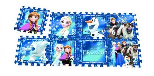 Puzzlematte Frozen 8tlg