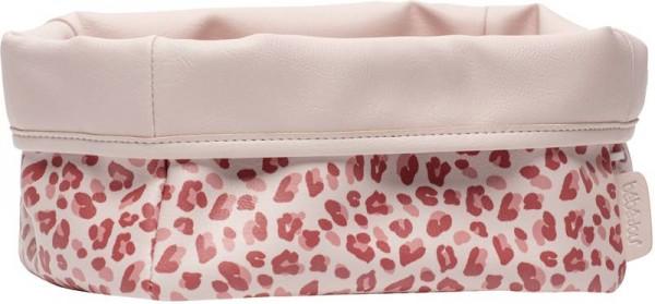 Pflegekörbchen pink Leopard