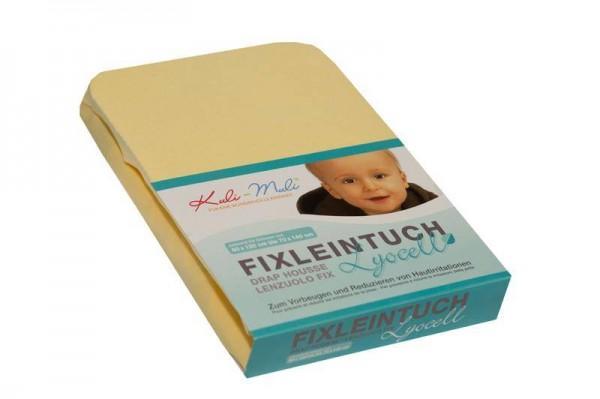 Lyocell Fixleintuch 90/45 vanille