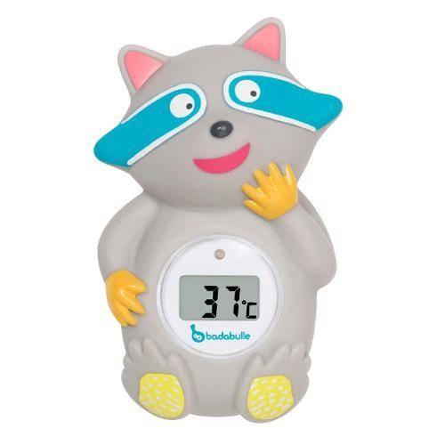 Badethermometer Waschbär