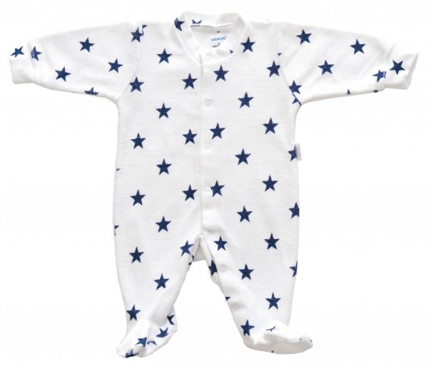 Kombi Frottee 44 navy Stars