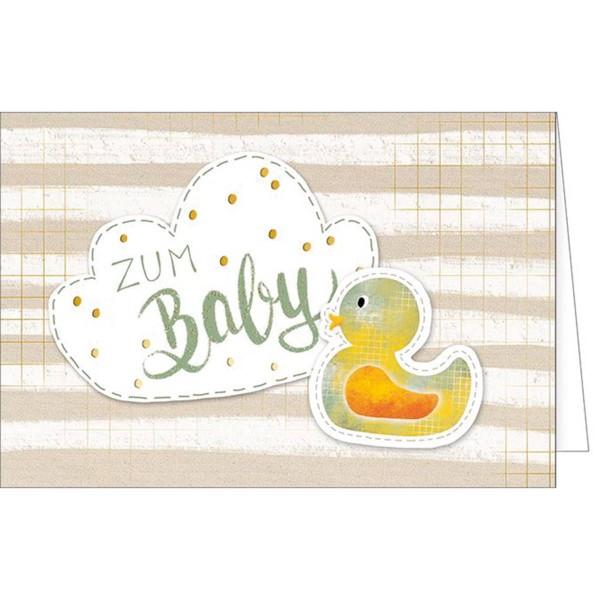 Glückwunschkarte zur Geburt 31-1649