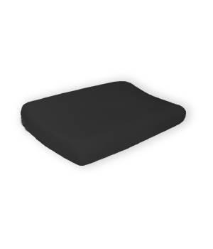 Jersey Bezug schwarz 40x60