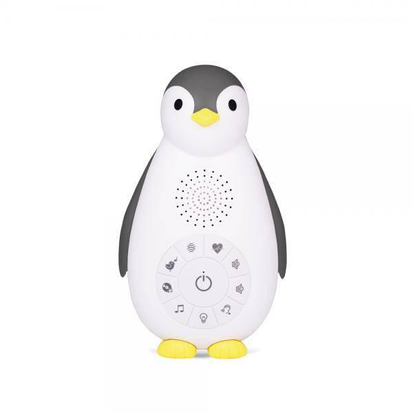 ZOE MusicBox Nachtlicht Pinguin grau