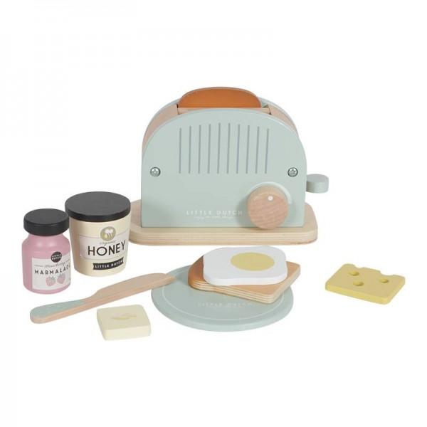 Holz Toaster Set 10-teilig