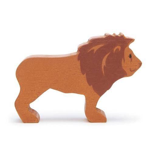 Holztier Löwe