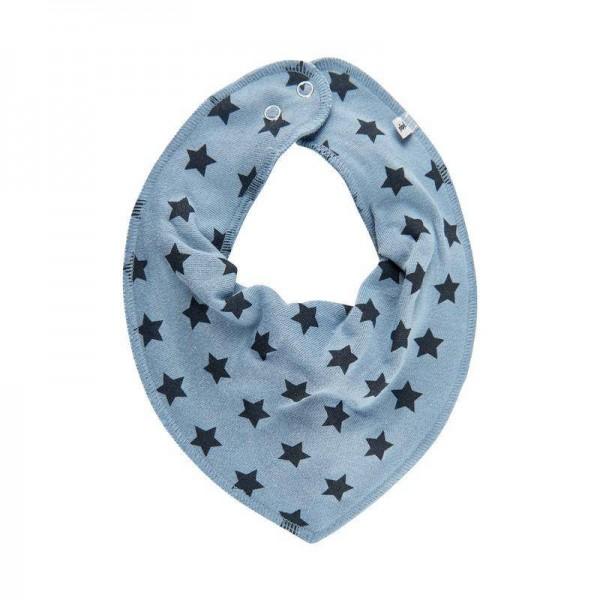 Halstuch mit Druckknopf Stars Dark Blue