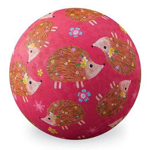 18cm Ball Kautschuk Igel pink