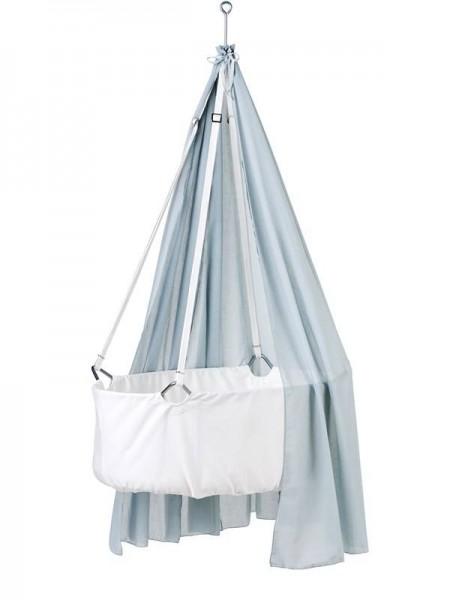 Vorhang zu Hängewiege misty blue