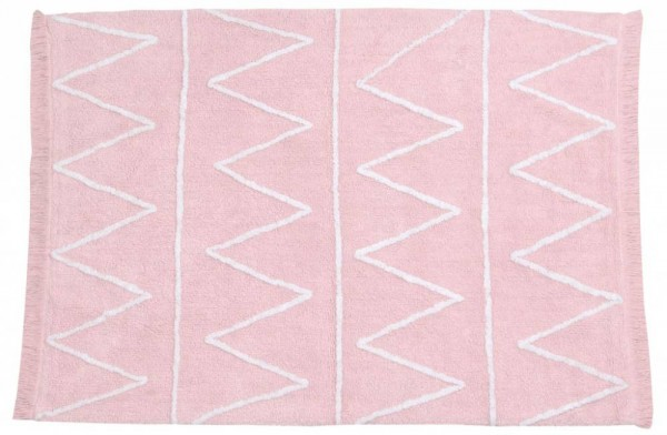 Kinderteppich Hippy Pink waschbar