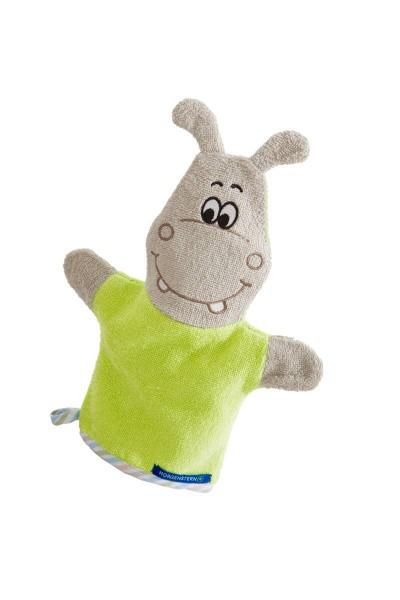Figuren-Waschhandschuh Hippo