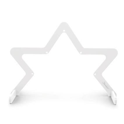 Holz-Spielbogen Stern weiss