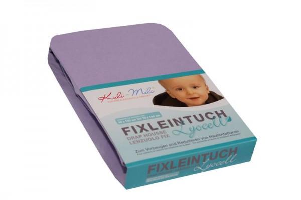 Lyocell Fixleintuch 90/45 flieder