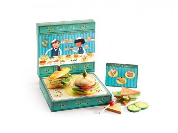 Emile et Olive Sandwich Set
