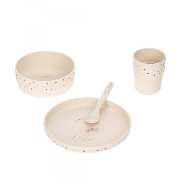 Geschirr-Set Bambus Schwan