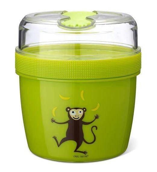 N'ice Cup L Snacksbox mit Kühlelement grün