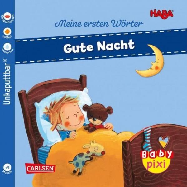 Baby Pixi 88 HABA Gute Nacht
