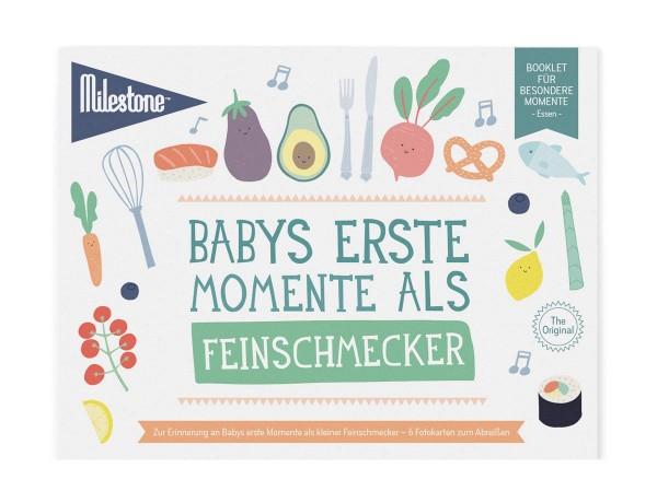 Baby's Feinschmecker-Momente Booklet Deutsch