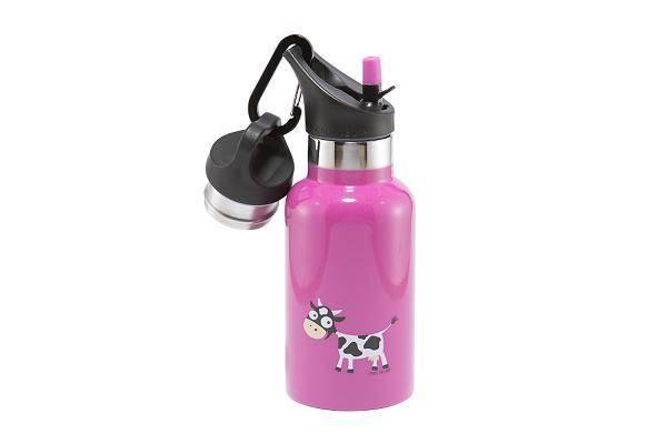 TEMPflask 350ml 2 Verschlüsse pink