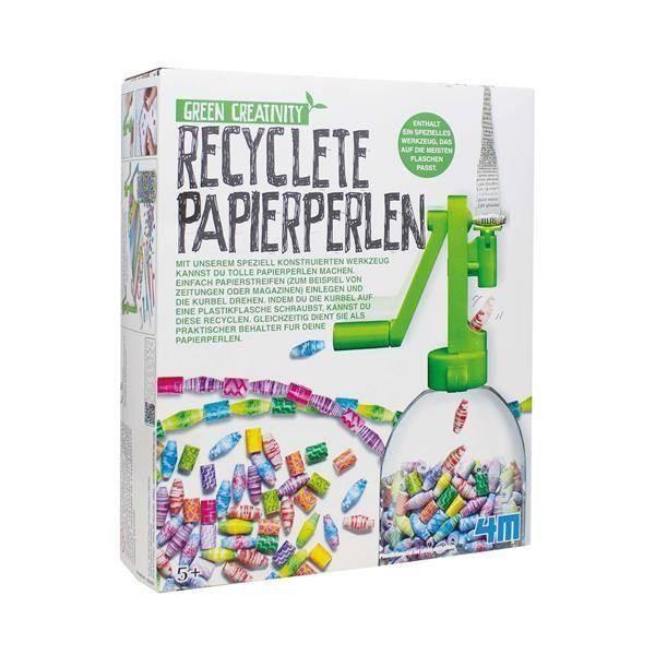 Papierperlen-Ketten Recycling